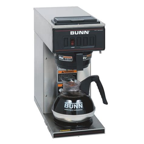 commercial coffee makers bunn commercial coffee brewer warmer machine maker stainless steel portable new