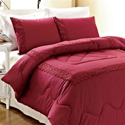 Colored Comforter by Kosmos Home Textile Solid Comforter 100 Cotton