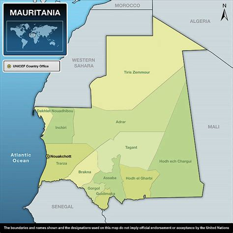unicef humanitarian action report  mauritania