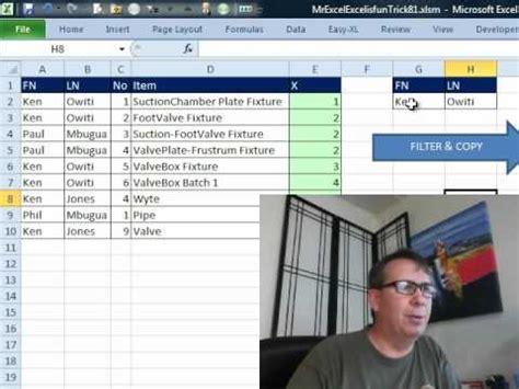 vlookup tutorial mrexcel excel return multiple values based on two criteria excel