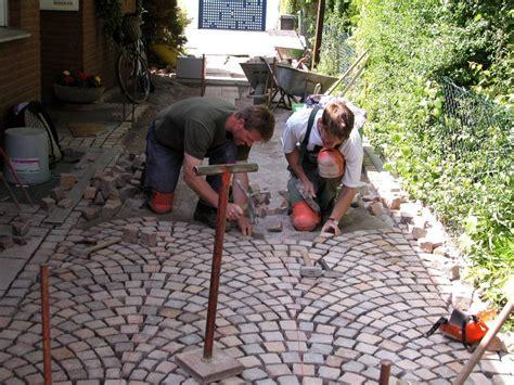 natursteinpflaster verlegemuster natursteinpflaster verlegen galabau m 228 hler