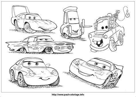 coloriage cars disney les beaux dessins de meilleurs