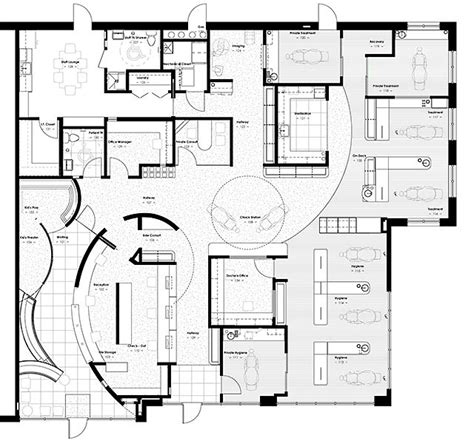 clinic floor plan design sle dentist office floor plans search health care