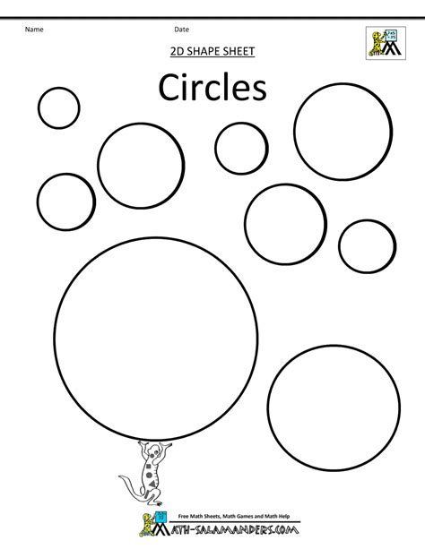 circle coloring page circle worksheet coloring pages