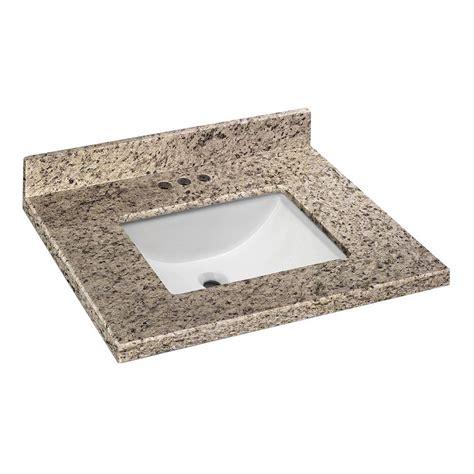 25 X 19 Granite Vanity Top by Home Decorators Collection 25 In W X 19 In D Granite
