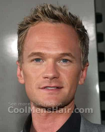 mendecess harris hair style neil patrick harris short hairstyles cool men s hair