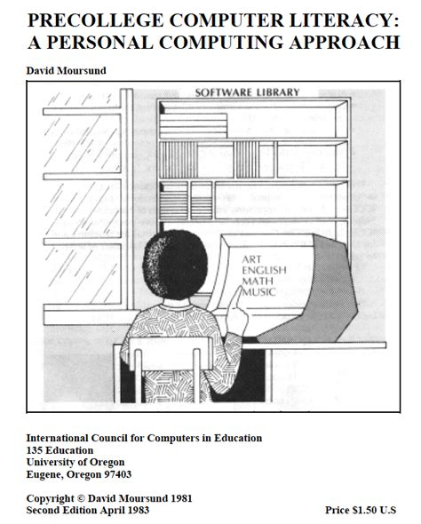 an important component of computer literacy information age education iae