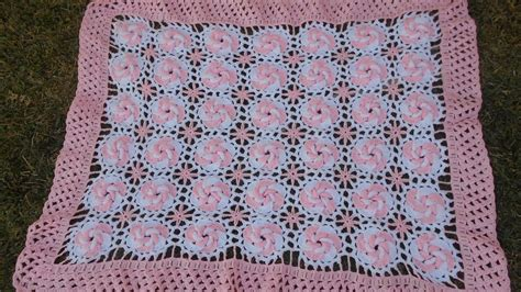 cobijita tejida para bebe manta cobijita colcha frazada para bebe en crochet
