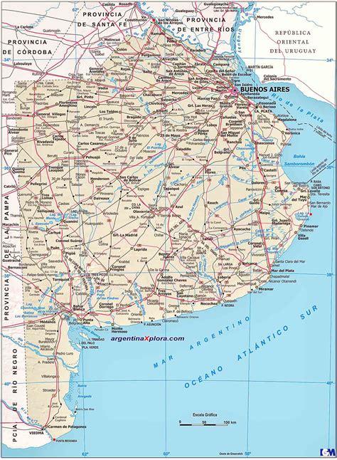 imagenes satelitales buenos aires mapa de la provincia de buenos aires