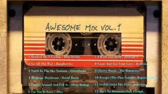Guardians of the galaxy awesome mix vol 1 soundtrack youtube