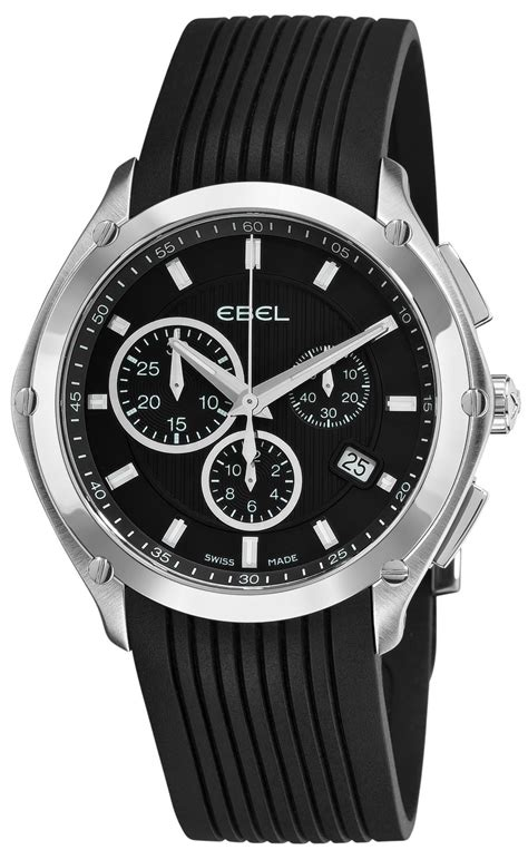 ebel classic sport chronograph s model 9503q51