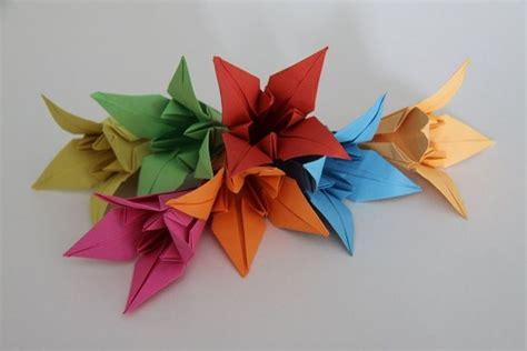 fiori origami tutorial fiore origami fiori di carta come fare un fiore con l