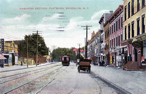 flatbush section of brooklyn frontier town or flatbush brooklyn ephemeral new york