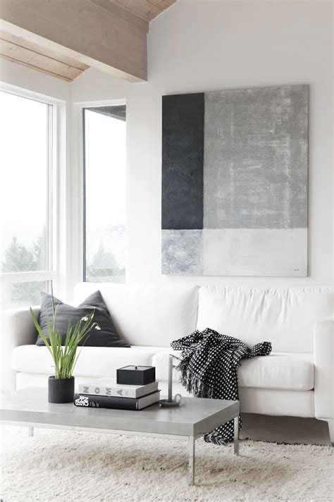 Black And White Paintings For Living Room by Shades Of Grey Stylizimo
