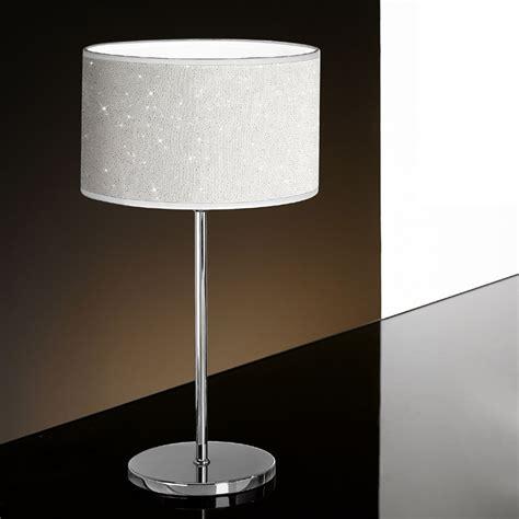 illuminazione tavolo lada tavolo comodino moderno glitter di antea luce
