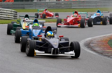 Vans Rd8 aditya patel finishes second race at spa francorchs in