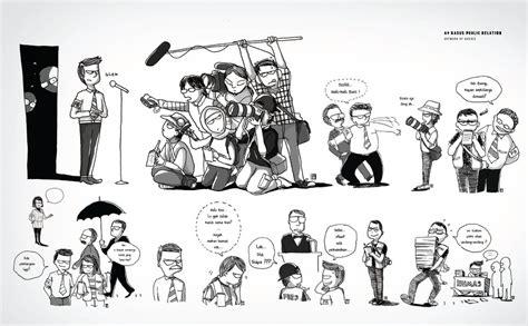 69 Panduan Humanis Menghadapi Wartawan ilustrasi 69 panduan menghadapi wartawan by bieyourself on