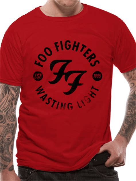 T Shirt Foo Fighters Zero X Store foo fighters wasting time t shirt buy foo fighters wasting time t shirt at the kerrang