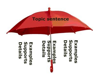how to write a topic sentence topic sentences