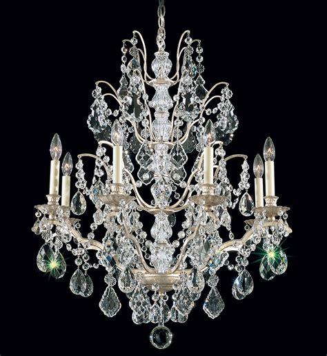 8 light chandelier schonbek bordeaux 8 light chandelier ls