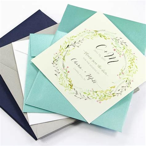 square wedding invitation size square envelopes all sizes colors papers of on wedding invitations branded experi
