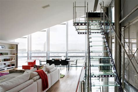 glass penthouse  london   thames idesignarch