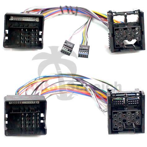 bm54 auf bm24 bord monitor radio navi adapter kabel f 252 r
