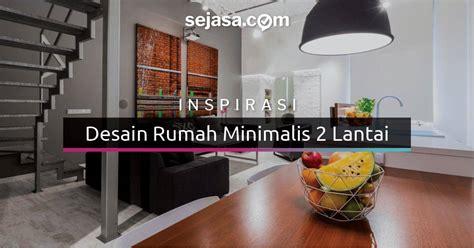 rumah minimalis  lantai  layak dijadikan inspirasi sejasacom