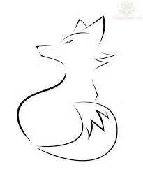 Cool Shape Outlines To Draw by Fox Outline Drawing Search Outlines Outline Drawings Foxes And Drawings