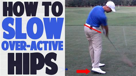 how to turn your hips in a golf swing 3 3 golf hip turn how to stop over rotating top speed golf