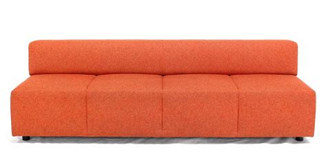 Steelcase Upholstery by Orange Upholstery Steelcase Sofa Booth For Sale At 1stdibs