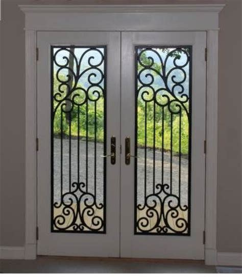 Iron Patio Doors by 19 Best Images About Door Window Decor Faux Wrought Iron