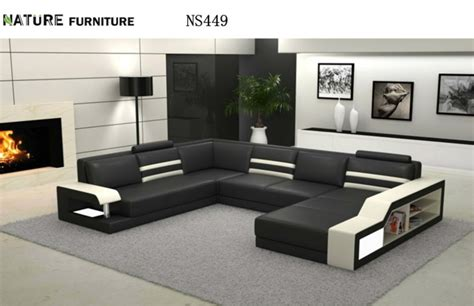 sofas en l modernos modern l shape corner sofa top genuine leather sofa living