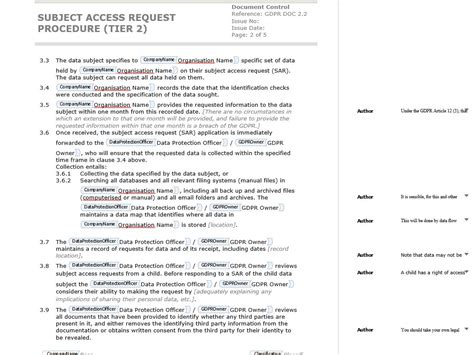 Subject Access Request Letter Exle how to write a gdpr compliant data subject access request