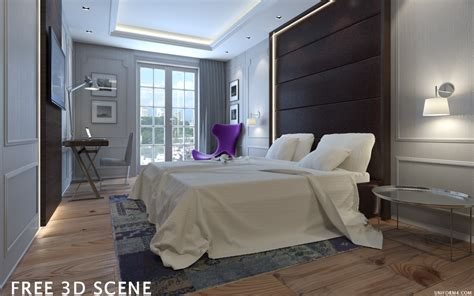 3d room model free 3d model hotel room archicollections