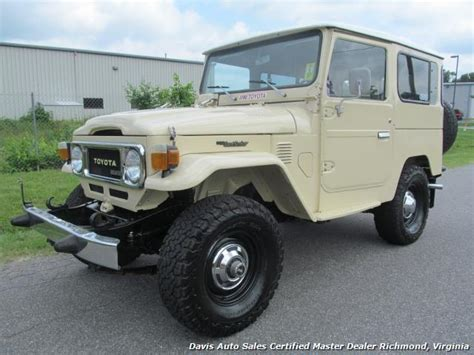 toyota jeep 1980 1980 toyota land cruiser bj40 fj40 4x4 diesel
