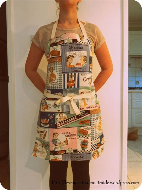tuto tablier cuisine enfant tutoriel le tablier de cuisine les cousettes de mathilde