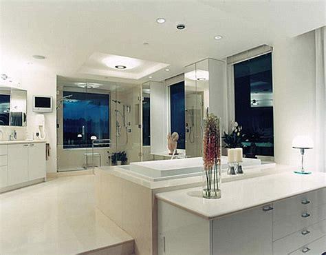 Deckenleuchten Badezimmer by Luxus Badezimmer Ideen Mit Einem Klar Definierten Look