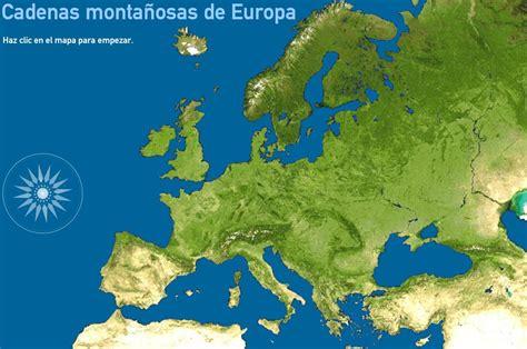 mapa interactivo de europa cadenas monta 241 osas toporopa