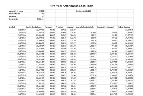 amortization schedule calculator latest version 2018 free download
