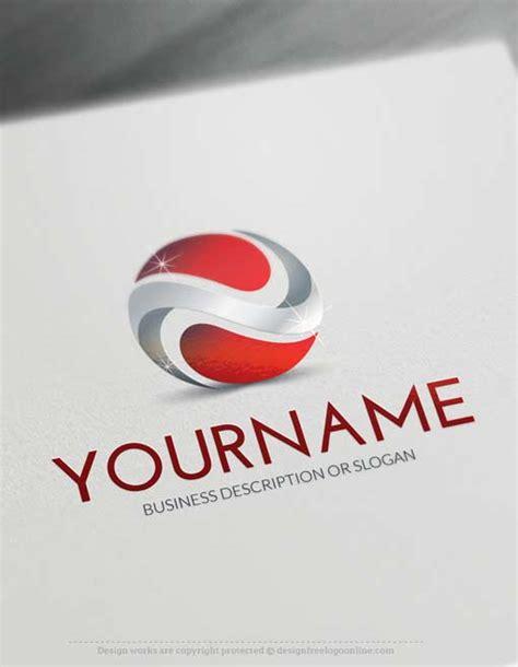 Online 3d Logo Maker 3d Abstract Logo Template Business Logo Templates Free