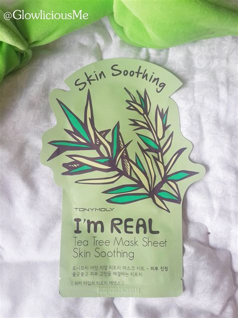 Harga Sheet Mask Tony Moly Di Counter tony moly i m real tea tree mask sheet skin shooting s