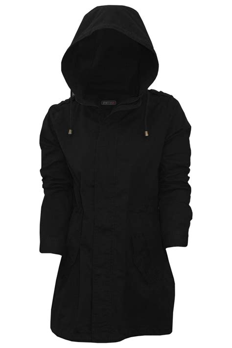 Hooded Fishtail Jacket womens lightweight fishtail summer hooded jacket soft