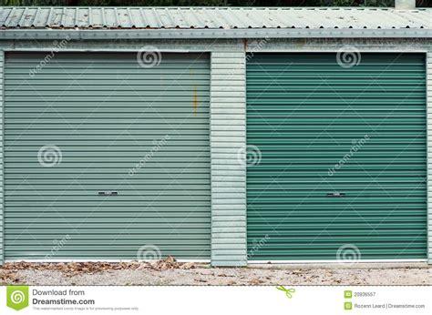 Green Garage Doors Green Garage Doors Royalty Free Stock Photography Image 20936557