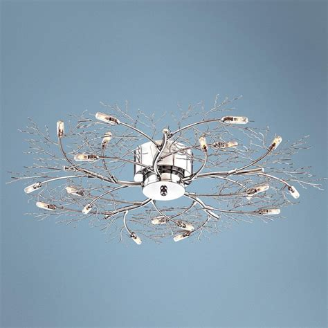 possini branch 30 1 2 wide ceiling light fixture possini branch 30 1 2 quot wide ceiling light fixture