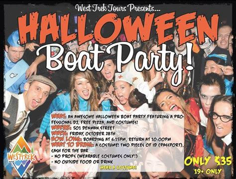 party on a boat vancouver halloween boat party at harbour cruises vancouver