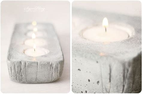 concrete diy 34 cool and modern diy concrete projects