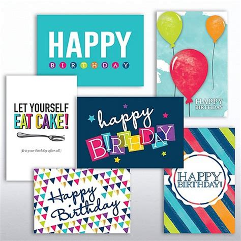 Assorted Birthday Cards For Employees Value Greeting Card Assortment Birthday Spirit At