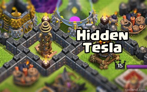 Clash Of Clans Tesla Tower All About Clash Of Clans