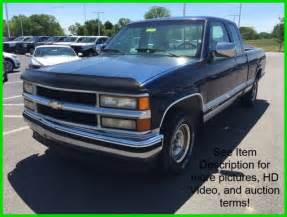 used 94 chevy c k 1500 sportside 4 3l v6 auto blue pickup